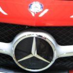 車磨き ベンツ